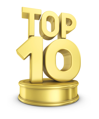 top ten trophy