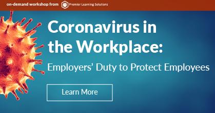 Coronavirus in the Workplace-Webinar