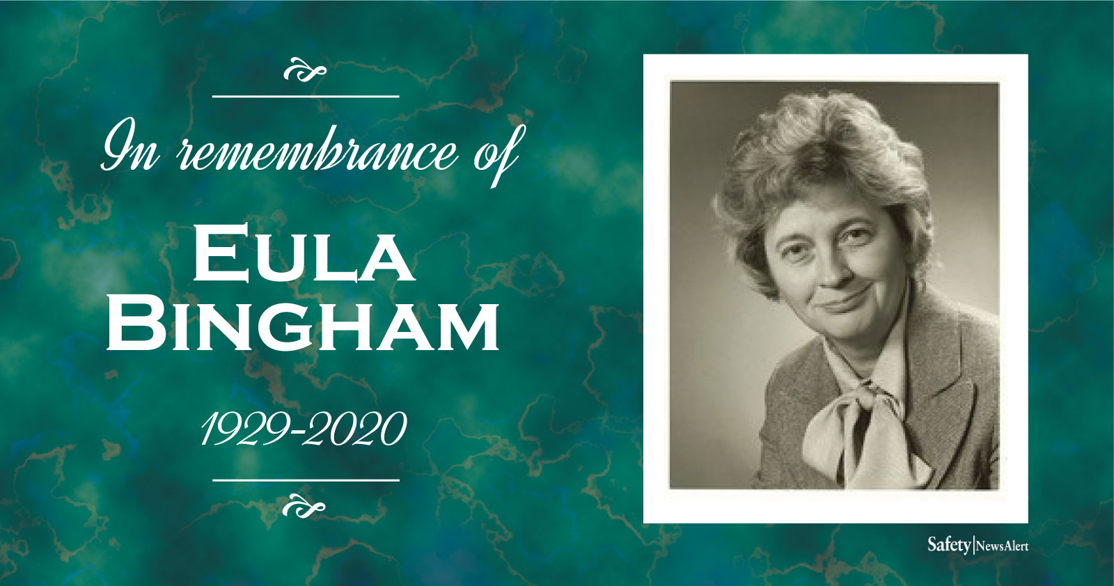 Eula Bingham remembrance
