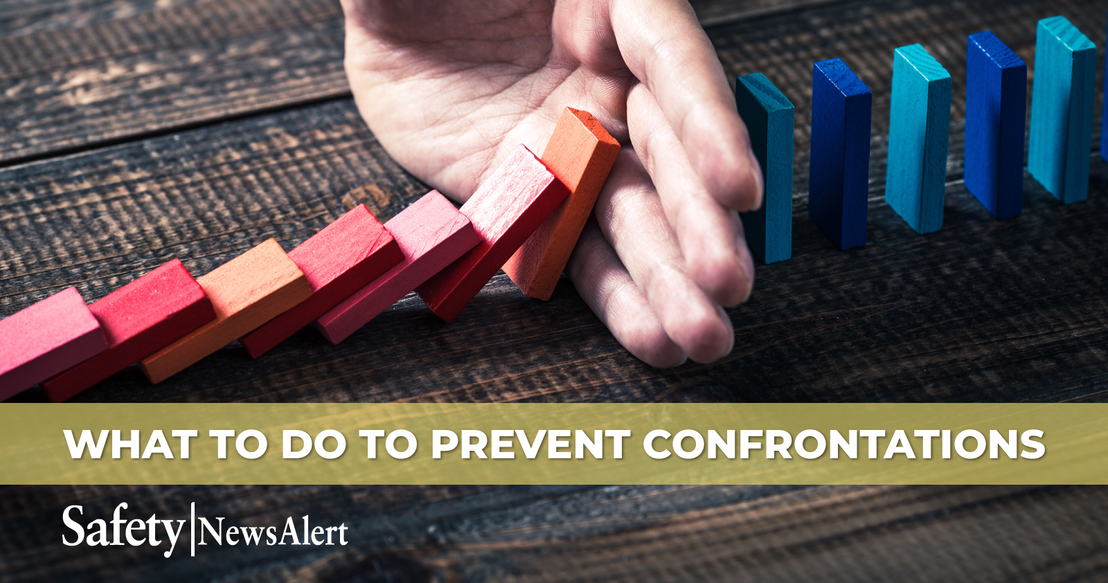 what to do to prevent confrontations
