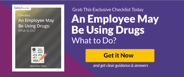 An Employee May Be Using Drugs: What to Do