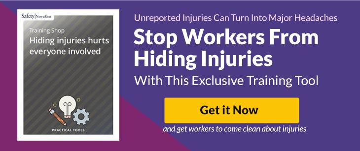 Hiding Injuries Hurts Everyone Involved