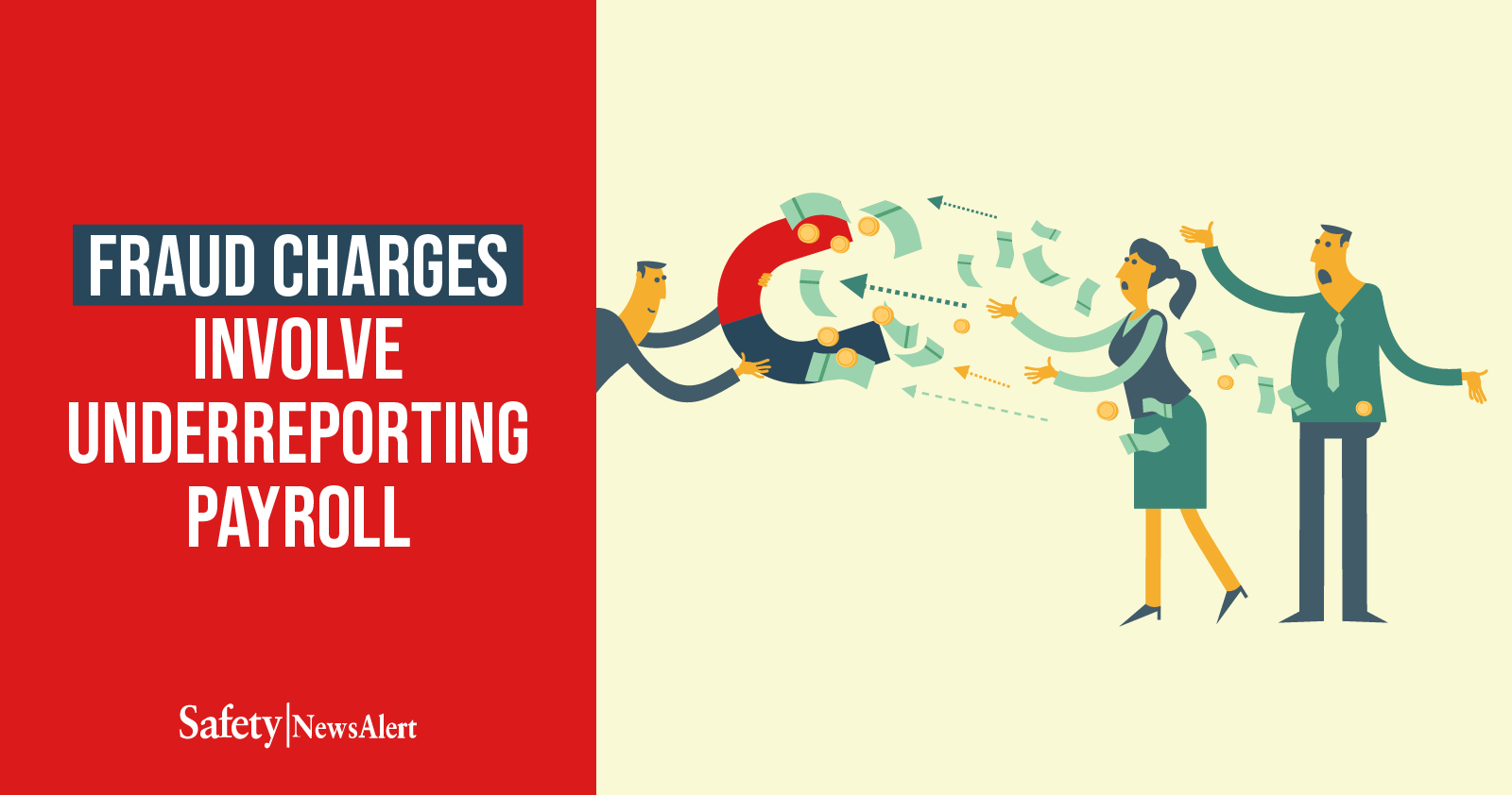 fraud charges involve underreporting payroll