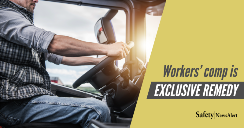 workers comp is exclusive remedy