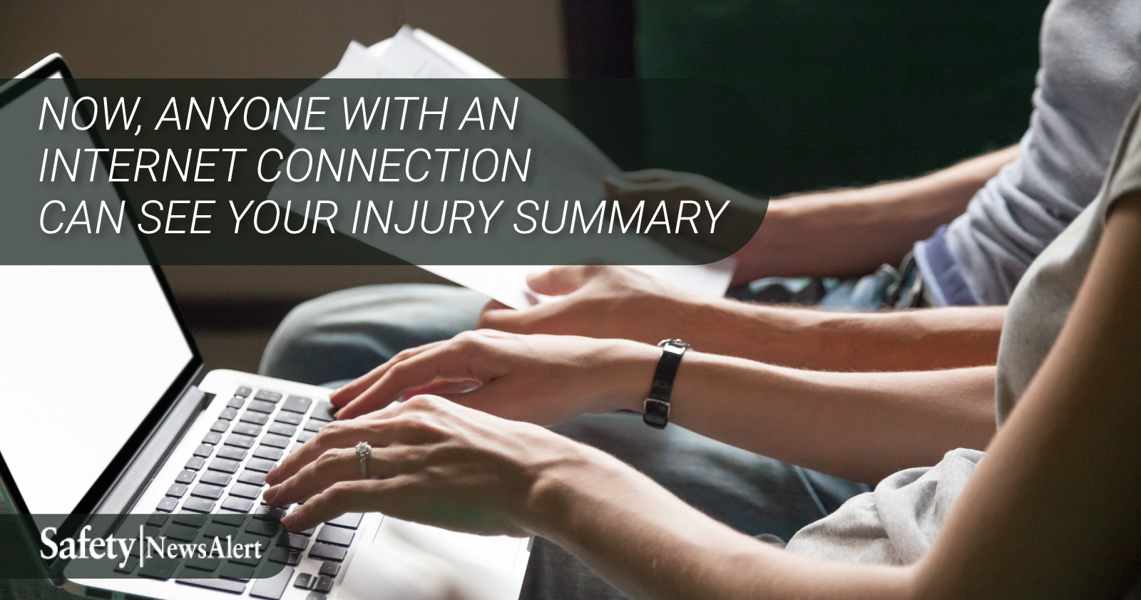 now anyone with an internet connection can see your injury summary