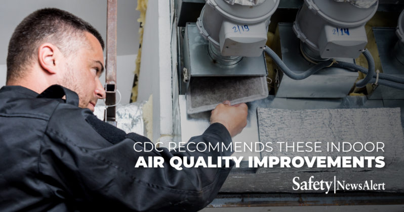 cdc recommends these indoor air quality improvements