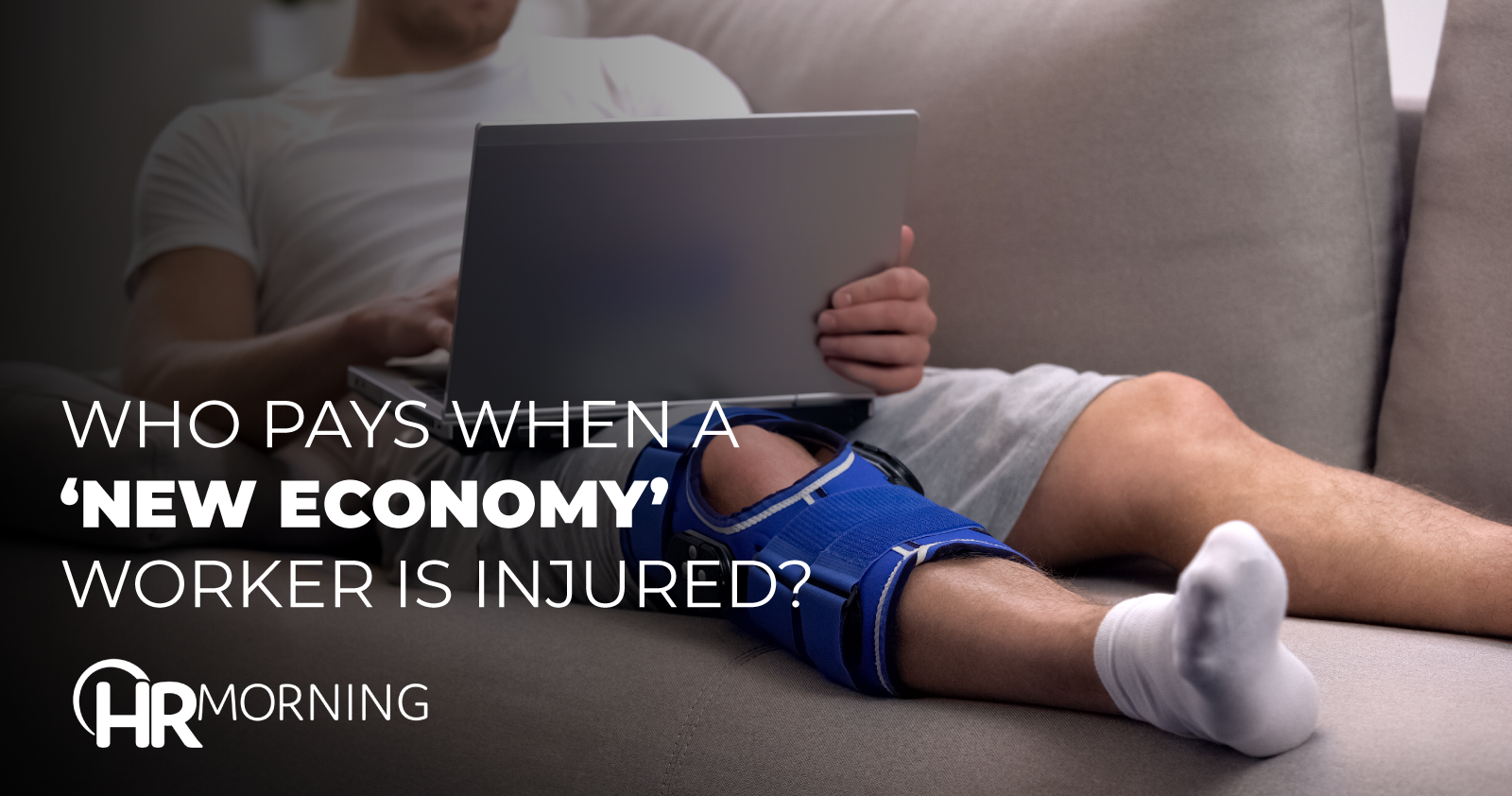 who pays when a new economy worker is injured