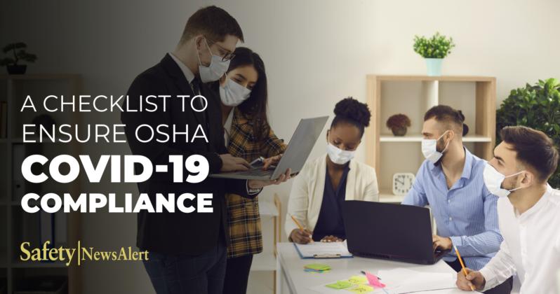 A Checklist To Ensure OSHA COVID-19 Compliance