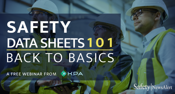 Safety Data Sheets 101