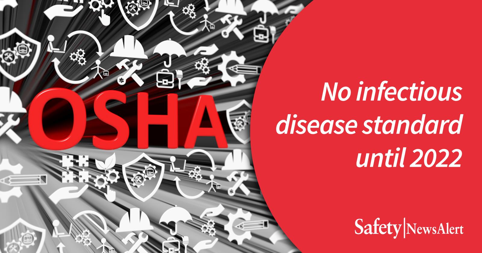no infectious disease standard until 2022